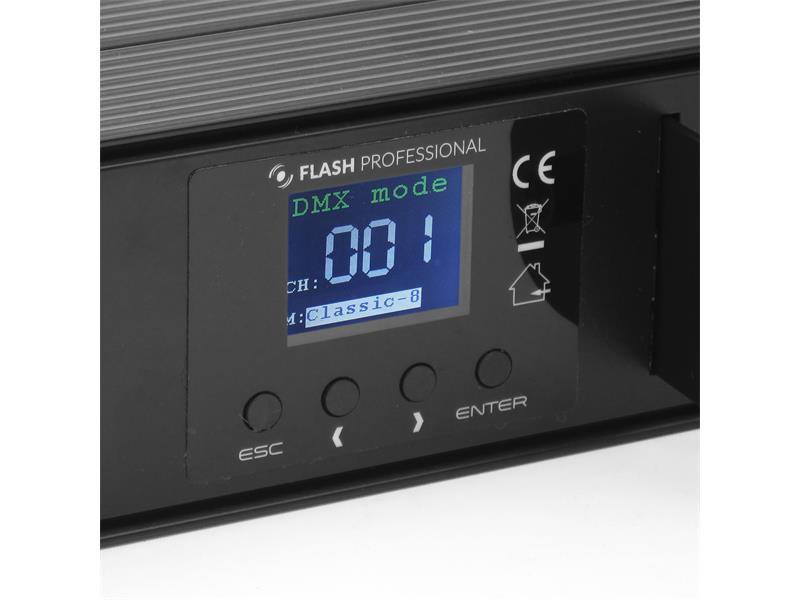 Flash Professional LED BAR 18x10W RGBW 4in1 3 Segmente Mk2 25°