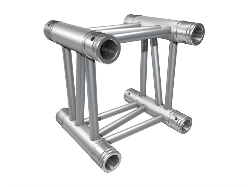 Global Truss F34 25cm, 4-Punkt Truss, inkl. Verbinder