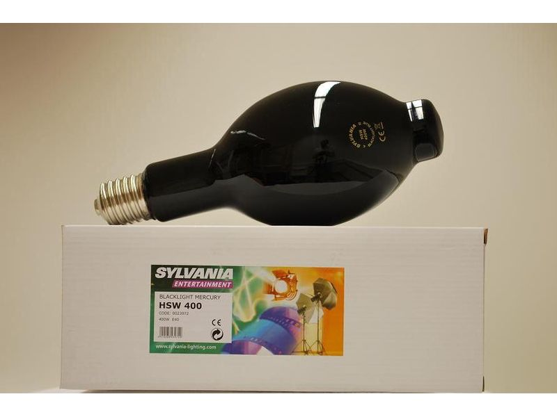 Sylvania HSW UV 400W E40 MERCURY BLACKLIGHT 2000h