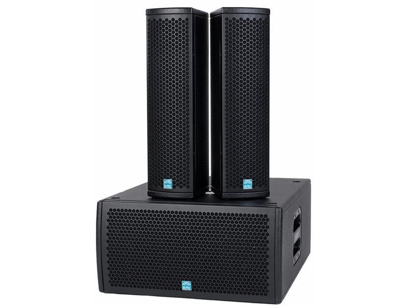 KME SD X, 2 x VLX 4 Topteile + 1 x VSS 28 Subwoofer