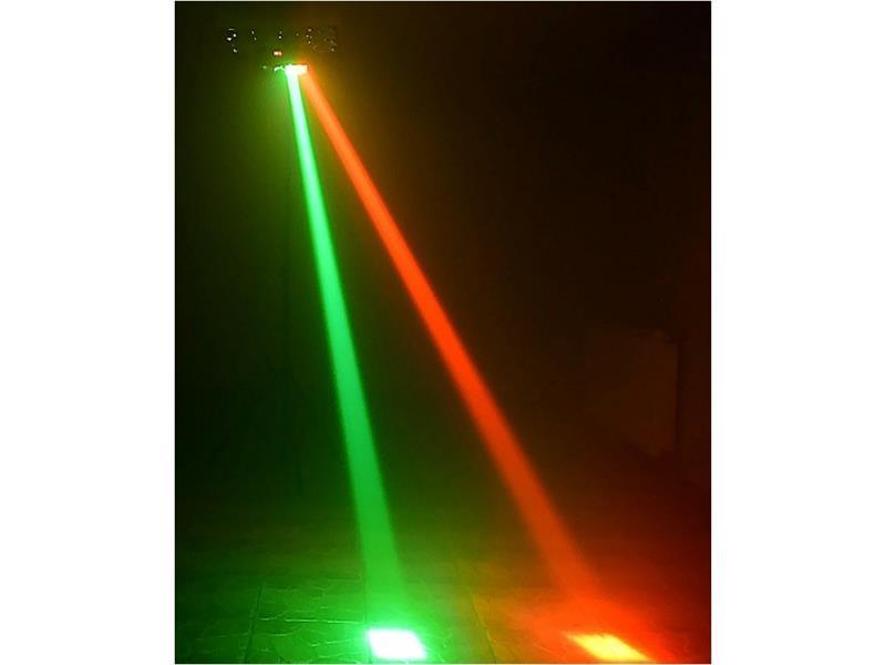 LIGHT4ME SPIDER MKII LED Effekt 8x3W RGBW