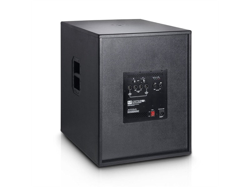 ld systems gt sub 18 a 18 pa subwoofer aktiv. Black Bedroom Furniture Sets. Home Design Ideas