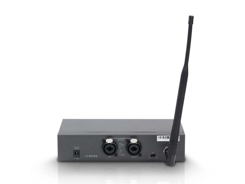LD Systems MEI 1000 G2 - In-Ear Monitoring System drahtlos 2x Belt Pack + 2x In-Ear-Kopfhörer