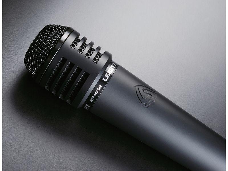 LEWITT MTP 440 DM dynamisches Instrumentenmikrofon, Niere