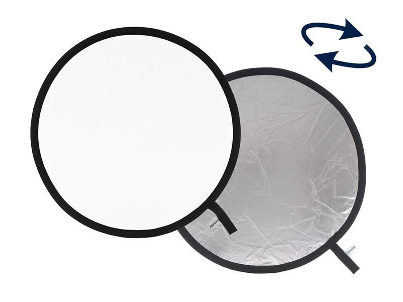 Lastolite LL LR1231 Rundreflektor Silber/Weiß 30cm