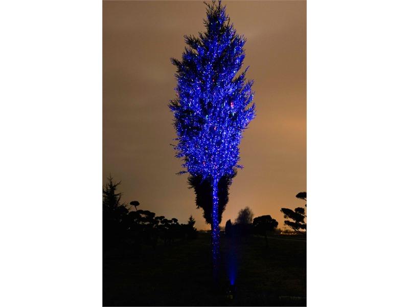 Laserworld GS-250RGB MOVE Gartenlaser rot-grün-blau IP67