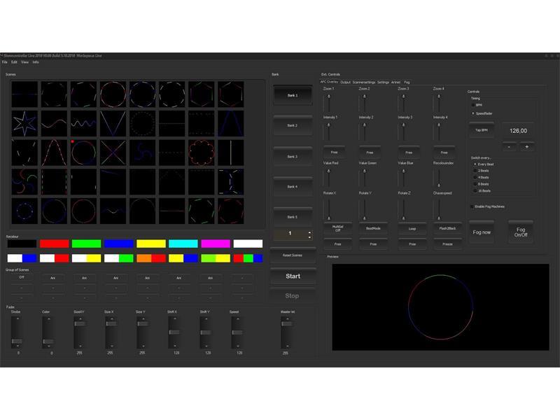 Laserworld Bundle ShowNET-Interface + Showcontroller-Software