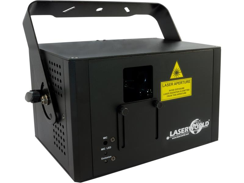 Laserworld CS-1000RGB MKII, DMX, ILDA, Sound