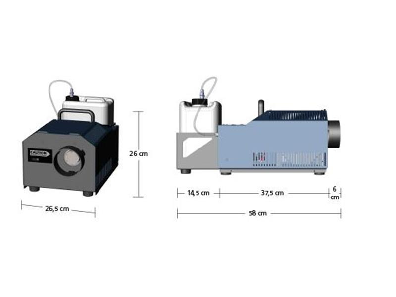 Look Solutions Cobra 3.1 - DMX, ArtNet, Touch - Nebelmaschine