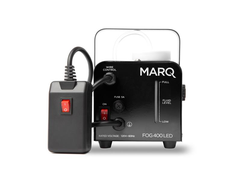 Marq Lighting Fog 400 LED Effekt-Nebelmaschine - BLACK