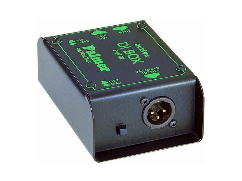 Palmer Audionomix PAN02- DI-Box aktiv