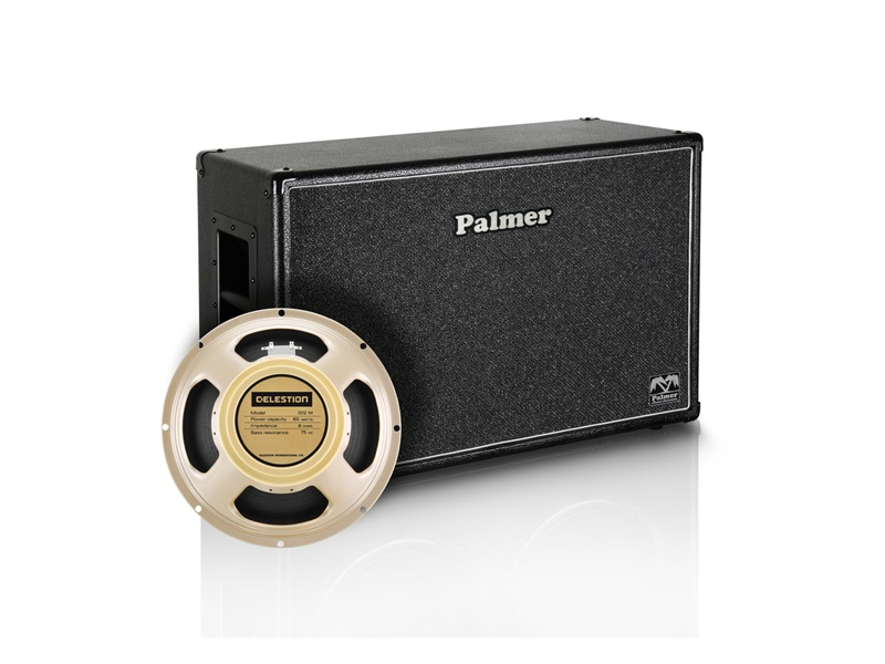 "Palmer MI Gitarrenbox 2 x 12"" mit Celestion Creamback Model 8/16 Ohm Open Back"