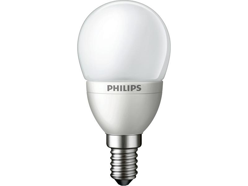 Philips MST LEDLuster 4W-25W E14 gefrostet, Farbton 827, 2700 Kelvin, warmweiss