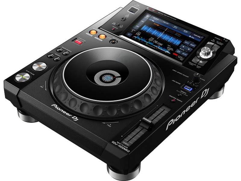 Pioneer XDJ-1000 MK2 - rekordbox-kompatibles, HiRes-fähiges, digitales DJ-Deck