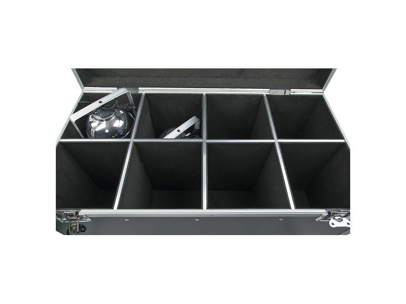 Flightcase für 8x Par 64 long, short, floor