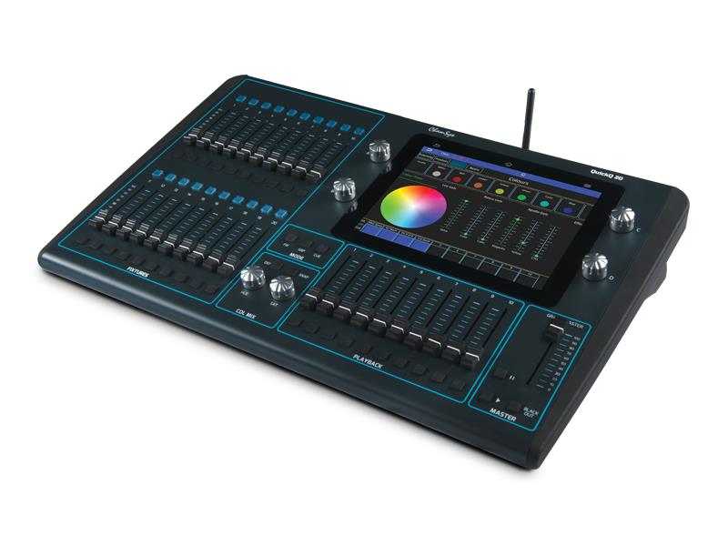 """Chamsys QuickQ 20 9,7"""" Touch Display, 2 Universe"""