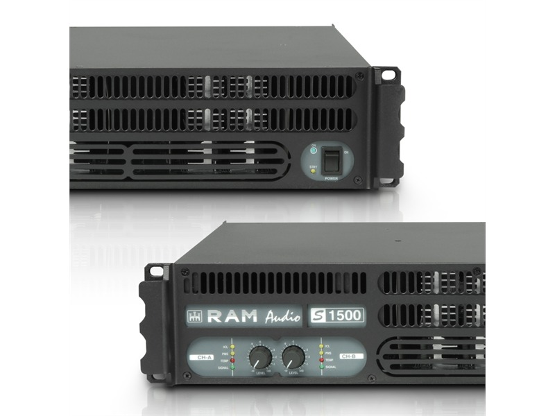 Ram Audio S 1500 - PA Endstufe 2 x 880 W 2 Ohm