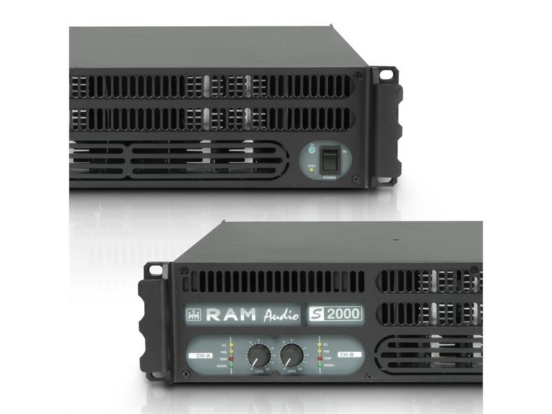 Ram Audio S 2000 - PA Endstufe 2 x 1190 W 2 Ohm