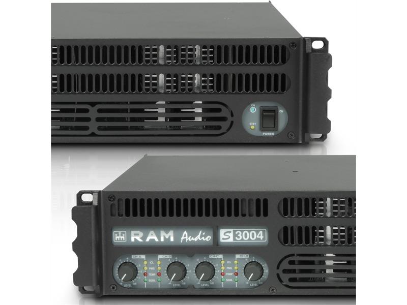 Ram Audio S 3004 - PA Endstufe 4 x 700 W 2 Ohm