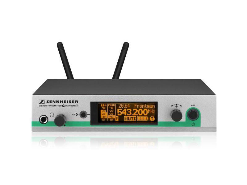 Sennheiser SR 300 IEM-E G3 E-Frequenz: 823 - 865 MHz
