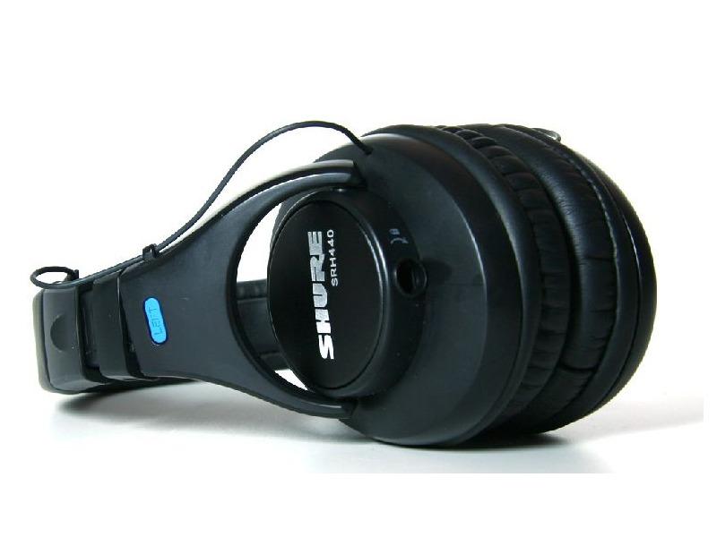 Shure SRH440 Professioneller Kopfhörer, für Monitoring und Recording