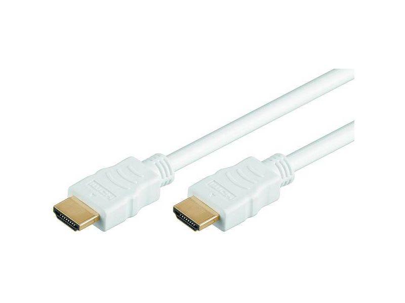 High Speed HDMI® with Ethernet 1,0 Meter, HDMI® A-Stecker>HDMI® A-Stecker