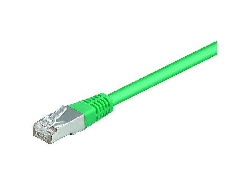CAT 5e Netzwerkkabel lose Ware, 2xRJ45 Stecker foliengeschirmt