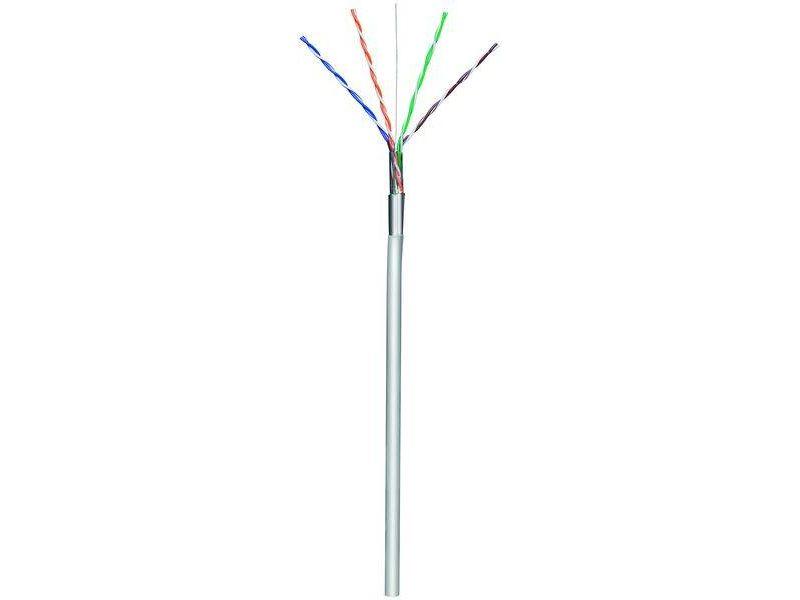 Verlegekabel 4x2xAWG24/1 starr, CAT 5e Foliengeschirmt