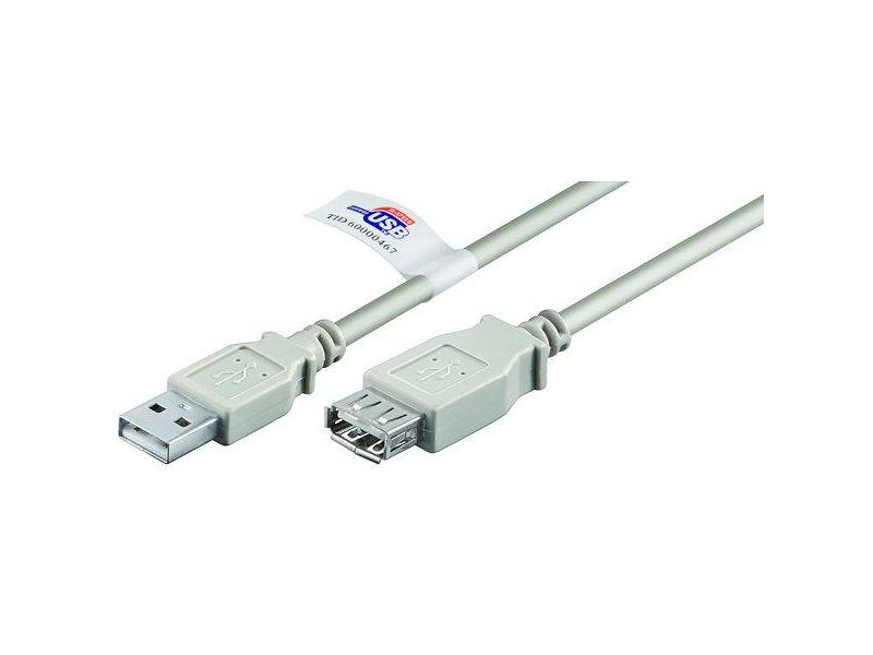 USB 2.0 Verlängerung Lose Ware, A Stecker > A Buchse