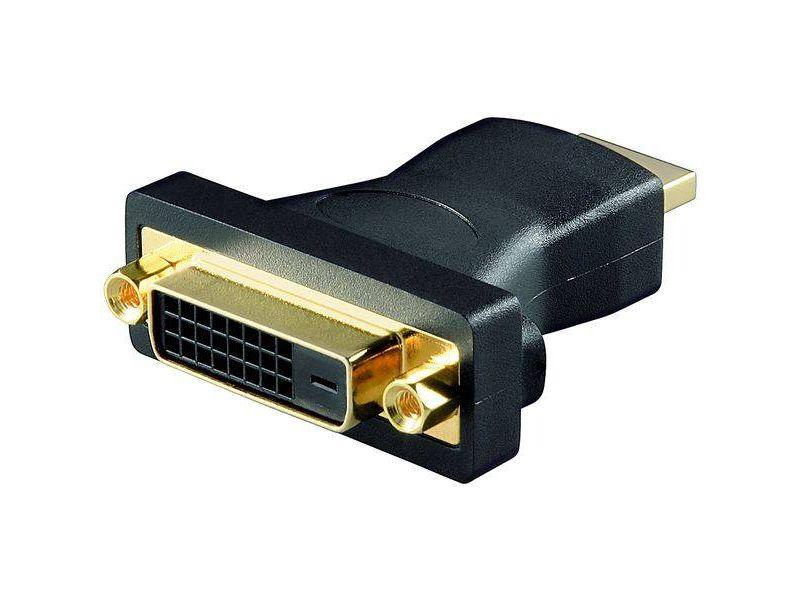 HDMI - DVI-D Adapter lose Ware, 19-pol. HDMI-Stecker>DVI-D (24+1) Buchse
