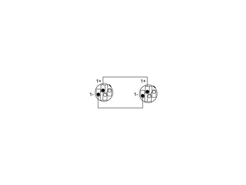 Cordial Road Line® Neutrik Speakon Kabel 2x2,5qmm mit NL4FX Stecker, 15m