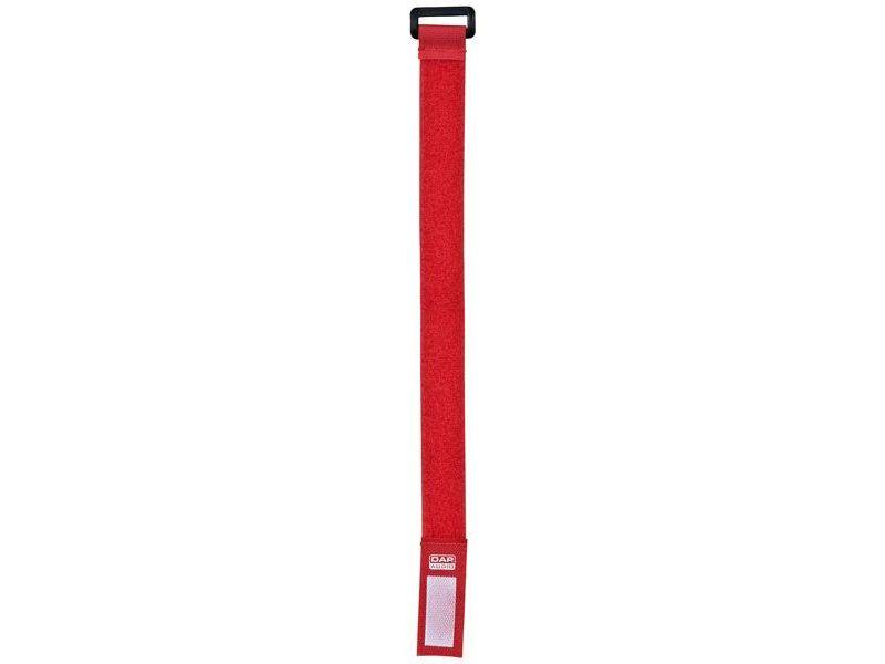DAP-Audio Snap Fastener 27 Red - 10 pcs - 27,5 x 2,5 cm, Klett-Kabelbinder