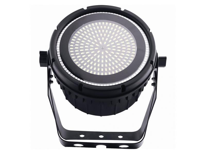 Evolights SMD LED STROBE PAR 189x0,5W 6500K + RGB LEDRing mit 96x 0,2W RGB