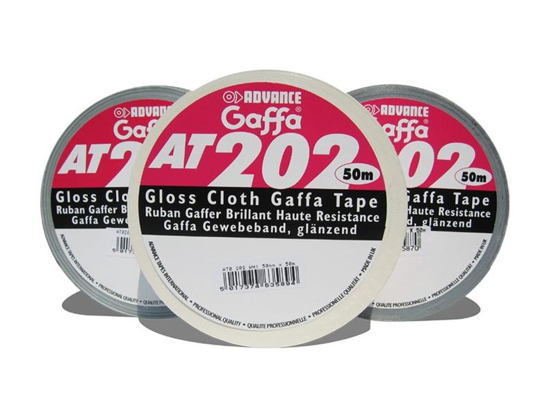 Advance Tapes AT 202 50mm / 50 m, weiss
