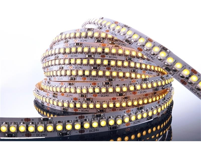 Flexibler LED Stripe, 3528, SMD, Warmweiß, 24V DC, 55,00 W