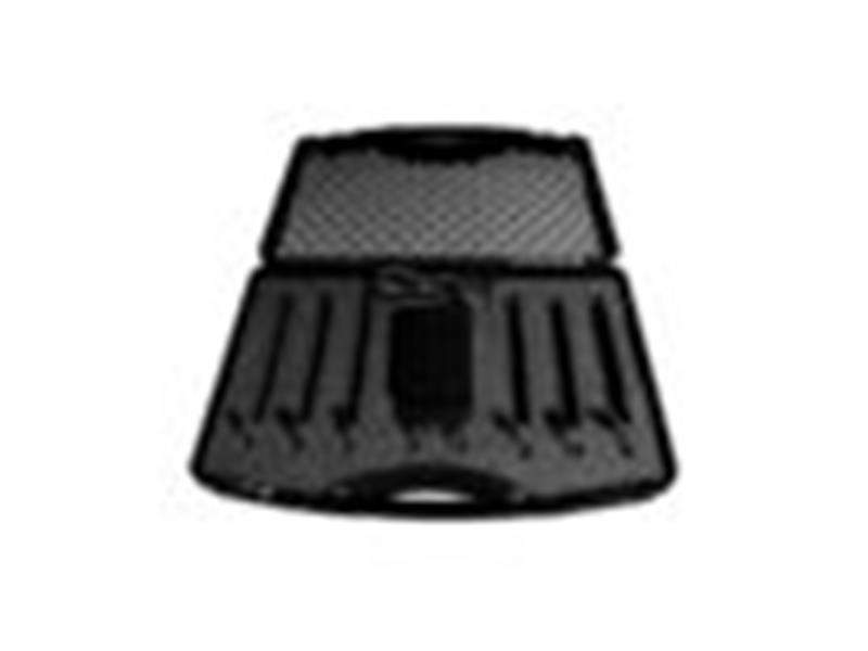 LED Table - Event Table TourSet 75 R - 6 Tische, rund, 110cm, mit LED, Case, Tasche, Fernbedienung