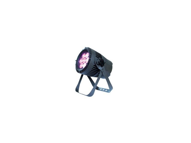 ExpoLite TourLED Pro 28 CM+W Zoom 7x 15W RGBW,IP67,DMX,schwarz, 8-40°
