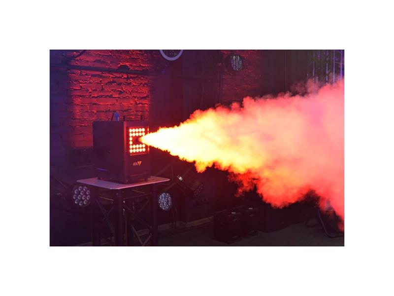 LIGHT4ME JET 2500 Nebelmaschine mit IR & LED, waagerecht und senkrecht einsetzbar