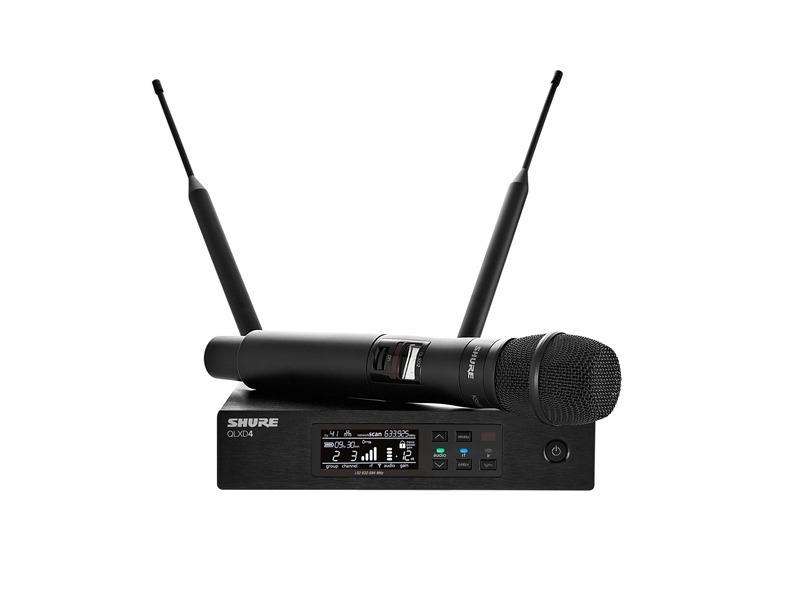 SHURE QLXD24E / KSM9 S50 digital 823 bis 865 Mhz