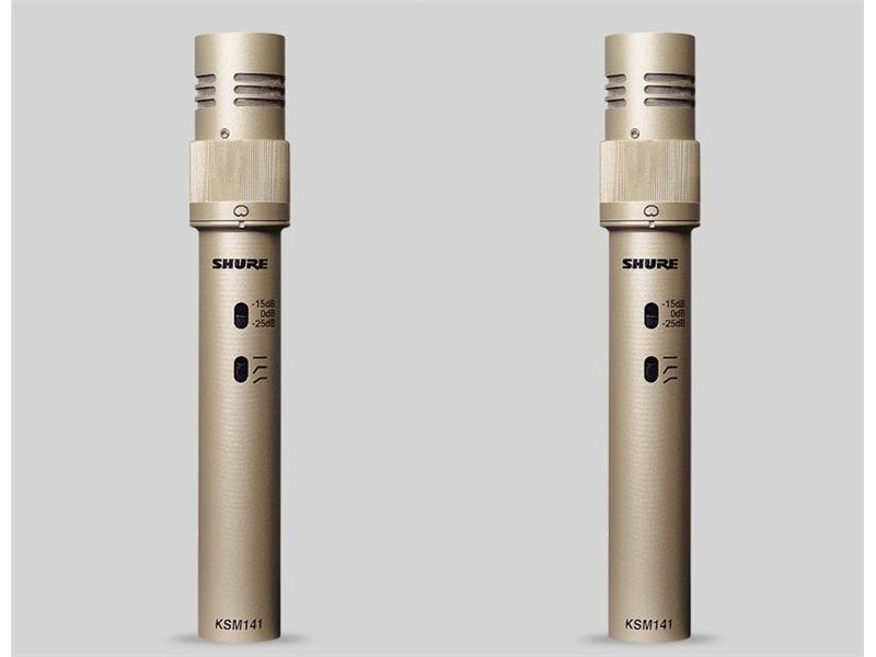 Shure KSM 141 / SL KLeinmembran Mikrofon Stereo Set