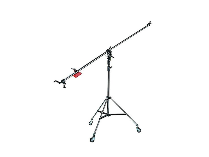 Manfrotto 025BS Superboom mit 008, 110, 123, 022