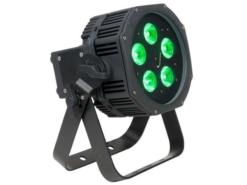 ADJ American DJ WiFly EXR HEX5 IP 5x10W RGBAW+UV LED, Akku/Netzbetrieb, IP
