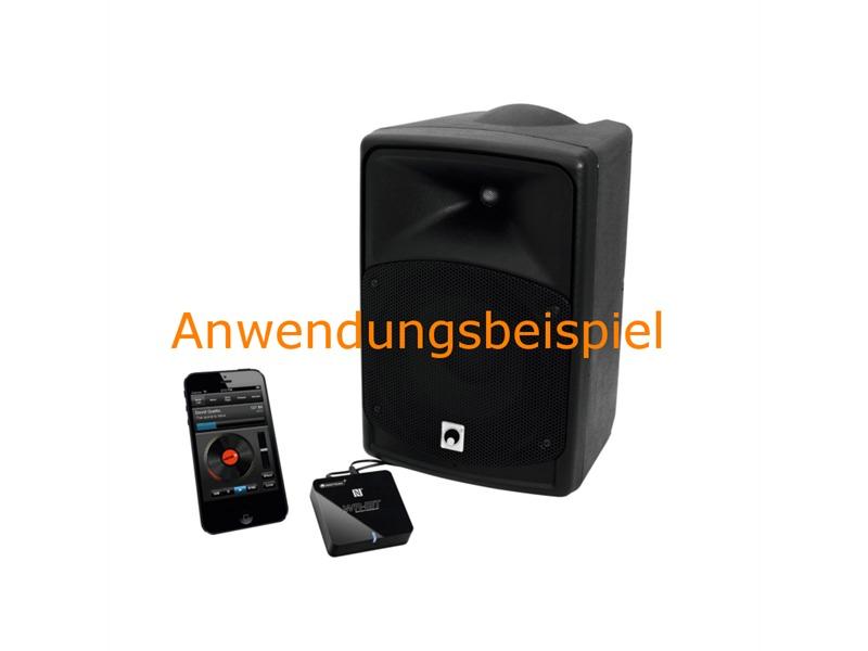 omnitronic wr 1bt bluetooth empf nger nfc adapter. Black Bedroom Furniture Sets. Home Design Ideas