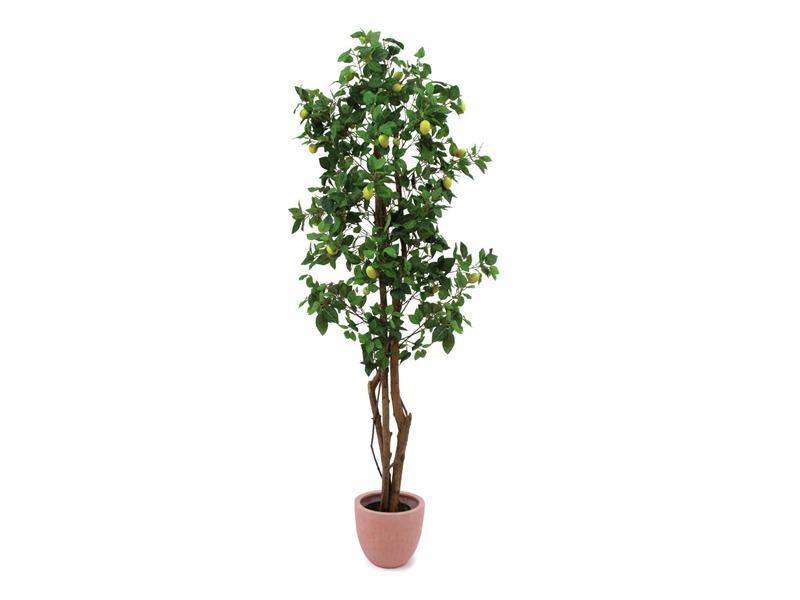 Europalms Zitronenbaum 180cm, Kunstpflanze