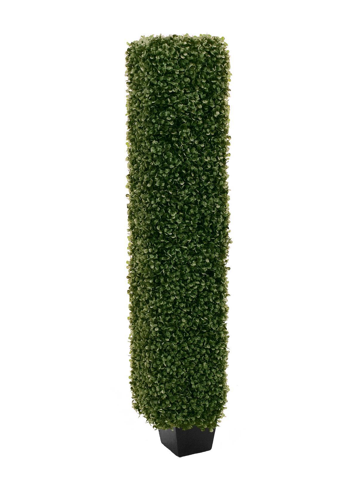 Europalms Buchsbaumsäule, 118cm - Kunstpflanze