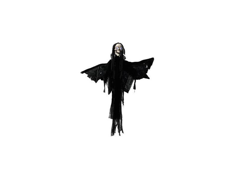 Europalms Halloween Figur Engel Motor+Sound+LED