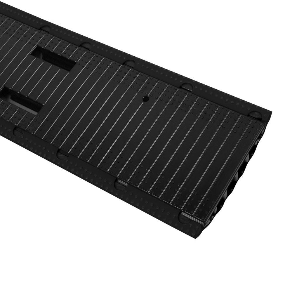 defender office kabelkanal 4 kan le schwarz. Black Bedroom Furniture Sets. Home Design Ideas