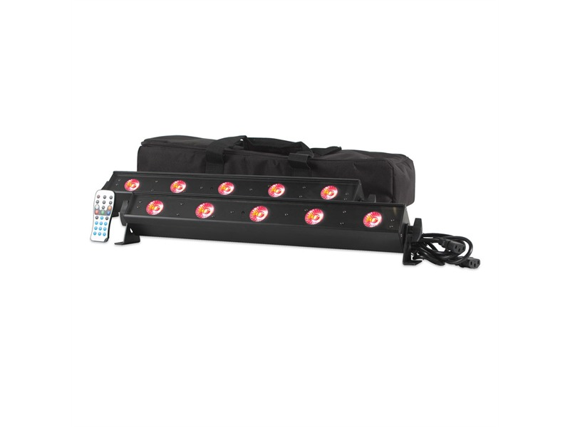ADJ VBAR PAK - 2x LED Bar + Soft Case + Fernbedienung