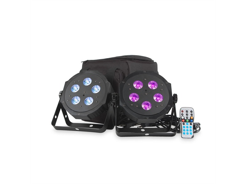 ADJ VPAR PAK - 2x LED Pars + Soft Case + Fernbedienung