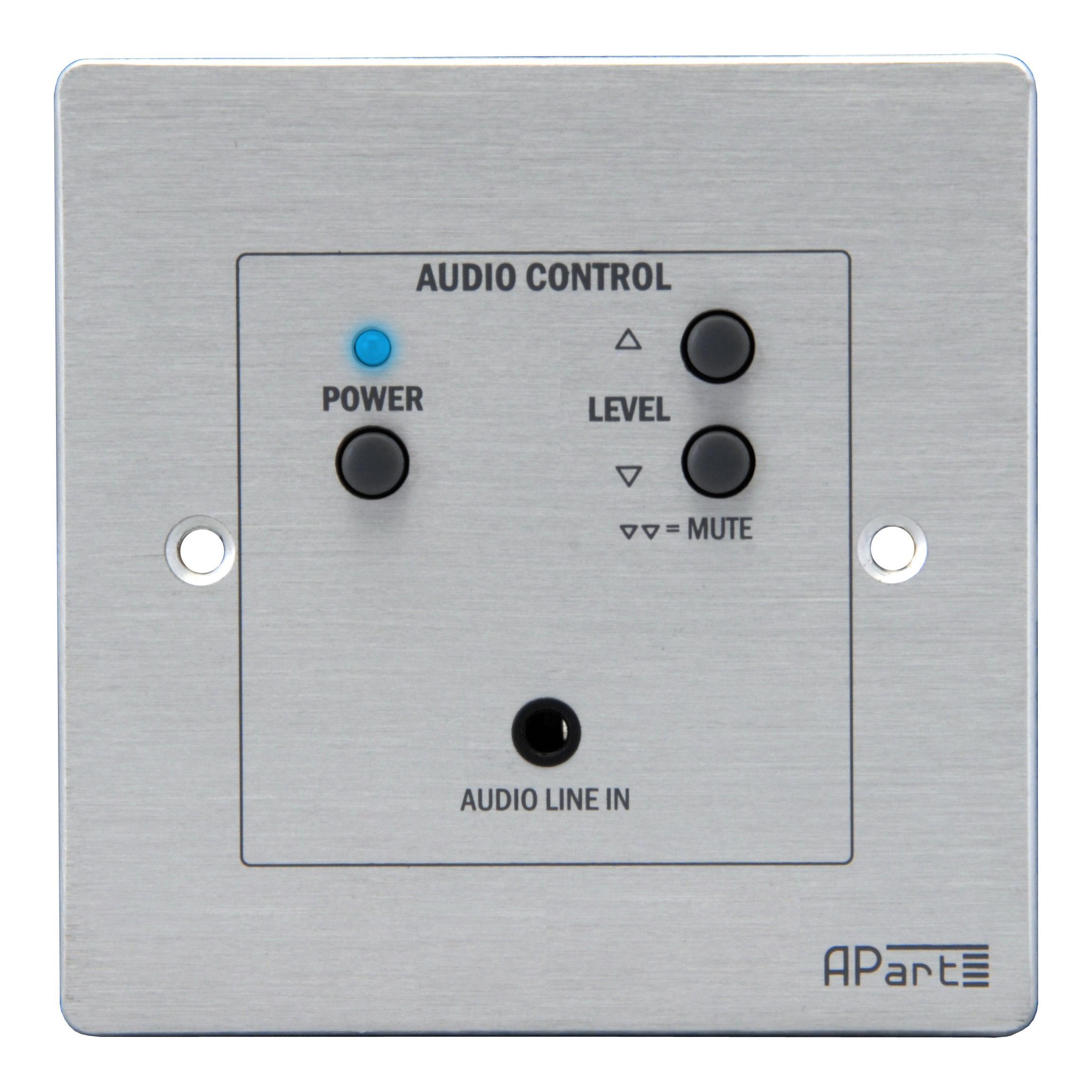 Apart Audio Apart ACPR Drahtgebundene Fernbedienung f SDQ5PIR: Ein/Aus, Line- Eingang
